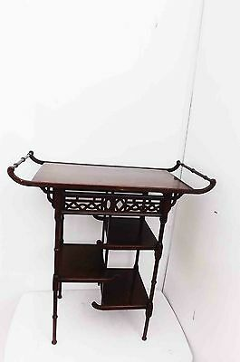 Chinese table Chipendale styled mahogany
