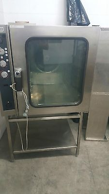 Zanussi 20 Tray Gas Combi Oven Excellent Working Condition. Italian Made