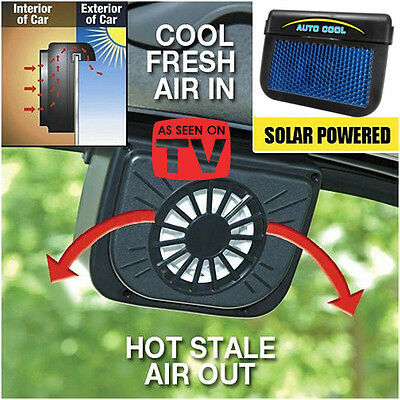 AUTOCOOL SOLAR POWERED FAN LORVANE icouture - AS SEEN ON TV!