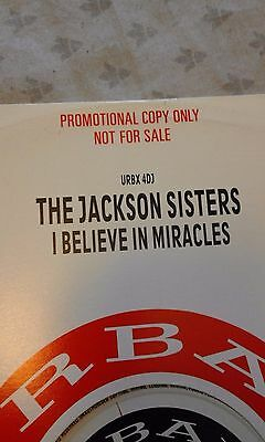 Jackson Sisters – I Believe In Miracles URBX DJ 4  ( RARE PROMO COPY ) UNPLAYED