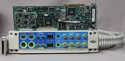 Media 100 100i P6000 PCI Video Capture Card Breakout Board for Apple Macintosh