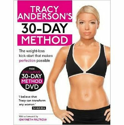 Tracy Anderson 30 Day Method Book +DVD,Targeted Training Bootcamp & Cardio Dance