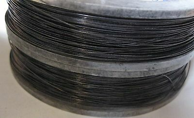"Tungsten / wolfram wire 0.49 mm (0.019"") * 3 m (8'), 99.95% Pure."
