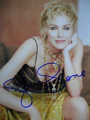 Sharon Stone  8x10 auto photo in Excellent Condition