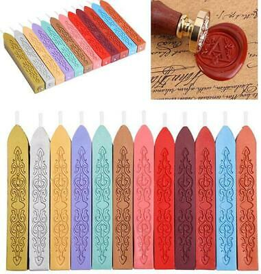 5x Vintage DIY Wax Sealing Stick Seal Melting Candle Letters Stamp Envelope Card