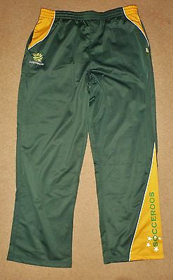 New / Tagged 2XL Mens Socceroos Pants Soccer Track Bottoms Soccer Australia