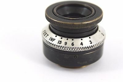 classic DALLMEYER 1 inch f1.9 c mount Brass lens, London, Micro 4/3