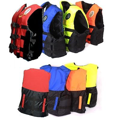 Adult Kids Lifesaving Vest Aid Sailing Boating Sports Swimming S M L XL XXL