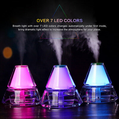 Ultrasonic Humidifier Colour Led Oil Aroma Diffuser Aromatherapy Air Purifier