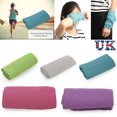 Summer Instant Cooling Towel Sports Gym Towel Drying Sweat Pets Baby Absorb Dry