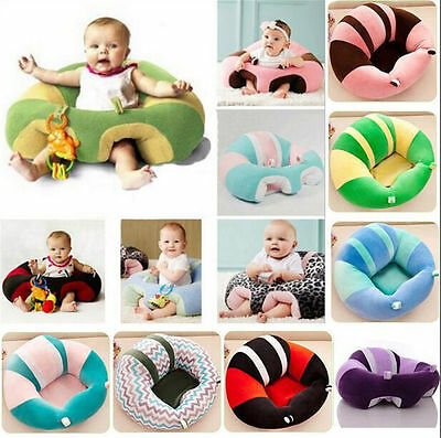 Baby Soft Learn Sitting Back Chair Cushion Sofa Training Portable Seat Nursing