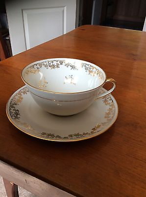 Very Pretty Singer Limoges Cup & Saucer
