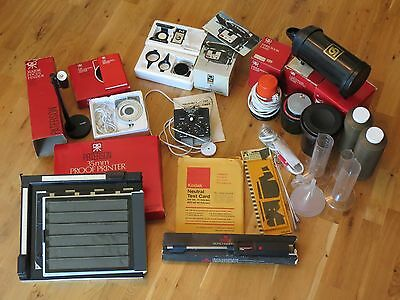 Photographic Darkroom Equipment. Large Selection of Good Condition Items.