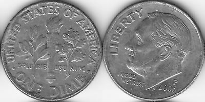 USA 10 Ten cent coin Dime 2006