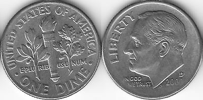 USA 10 Ten cent coin Dime 2000