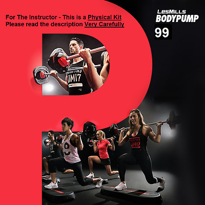 BODYPUMP 99, DVD, Music and Choregraphy. Instructor Kit.