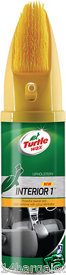 Turtle Wax Interior 1 Car Seat Upholstery & Carpet Dry Foam Cleaner With Brush