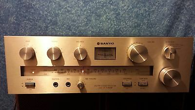 Sanyo Am/fm Stereo Receiver  Dcx  1515 K  .