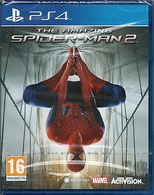 THE AMAZING SPIDER-MAN 2 GAME PS4 (spiderman)