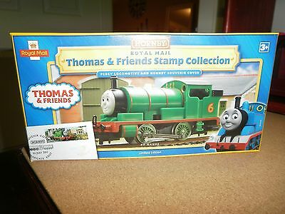 """HORNBY """"THOMAS & FRIENDS"""" - PERCY -  LOCOMOTIVE - Royal Mail Stamp Collection HO"""