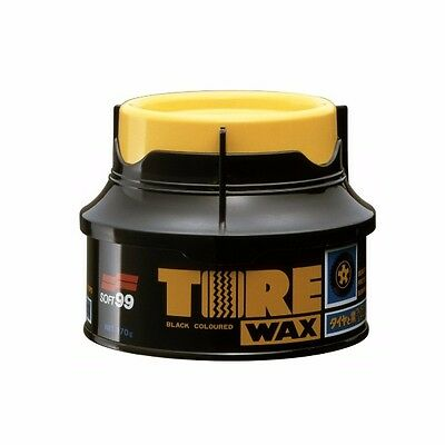 SOFT99 Tire Black Wax 170g dessing rubber - BRAND BEW