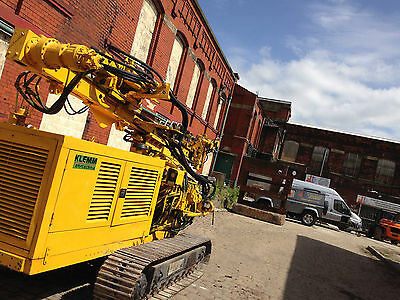 Klemm 708 Piling Rig Hire - Augering and Drilling Rig