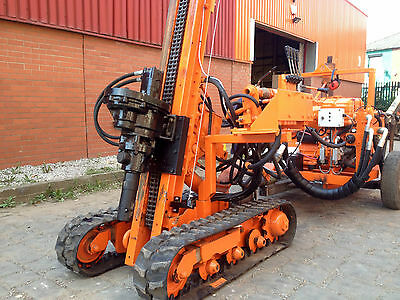 Compair Holman M-Trak Piling Rig Hire - Augering and Drilling Rig