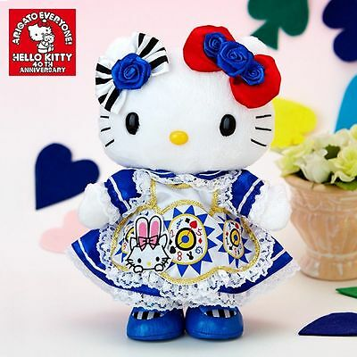 New Sanrio Hello Kitty 40th Alice Kitty Doll M from JAPAN GIFT limited rare F/S
