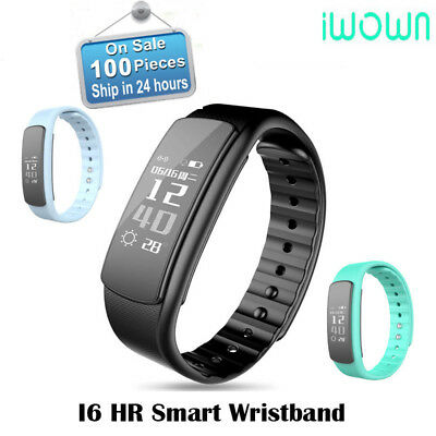 IWOWN I6 HR smartband Heart Rate Monitor Smart bracelet  for IOS Android