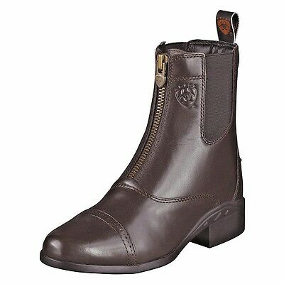 Ariat Heritage 3 Zip CHOCOLATE Paddock Boots, BNWT - CLEARANCE
