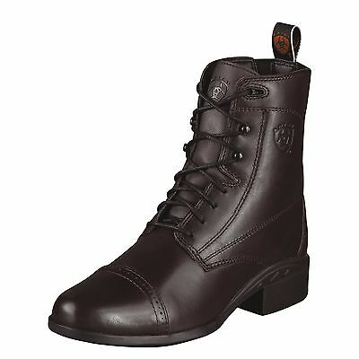 Ariat Heritage 3 Lace CHOCOLATE Paddock Boots, BNWT - CLEARANCE