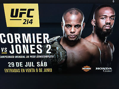 Two Tickets To Ufc 214: Cormier V Jones 2
