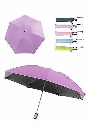 New Invention Inside Out/upside Down Folding Umbrella(Lilac Purple, 1Pcs)