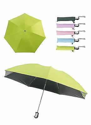 New Invention Reverse / Upside Down Folding Umbrella(Fresh Green, 1Pcs)
