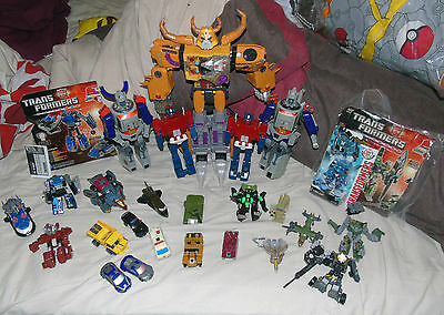 collection bundle lot of transformers G1 G2 armada unicron RID