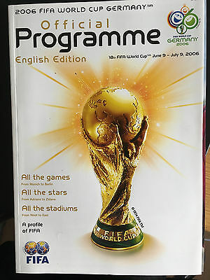 Official 2006 FIFA World Cup Final Tournament Programme Gold (English Edition)