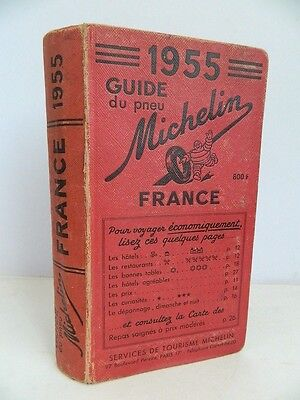 guide rouge MICHELIN 1955
