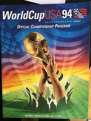 World Cup USA 94 Official Program