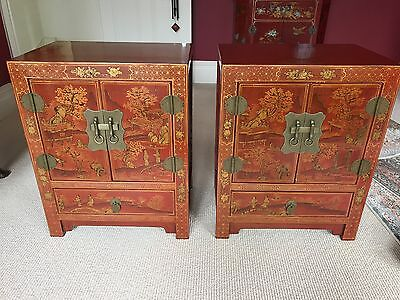 Antique Chinese Beside Tables