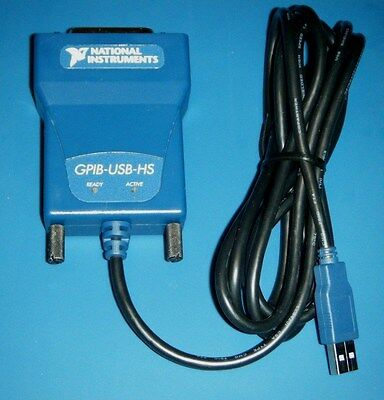 NI GPIB-USB-HS High Speed GPIB Controller for USB National Instruments *Tested*