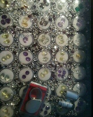 Natural mixed faceted loose gemstone lot #W5 35+ Carats