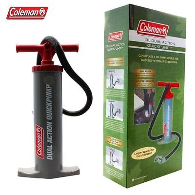 Coleman 13L Dual Action Quickpump Easy double action, push/pull pump