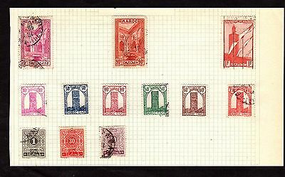 Stamps ~ MOROCCO AFRICA ~ Early
