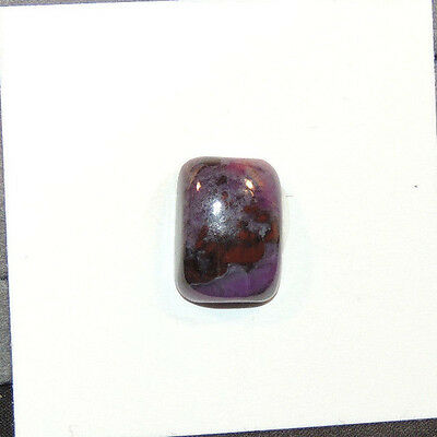 Sugilite Cabochon 10x14mm with 5mm dome (12501)