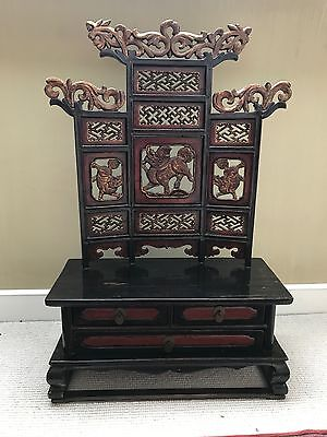 Chinese Antique Miniature Altar Table