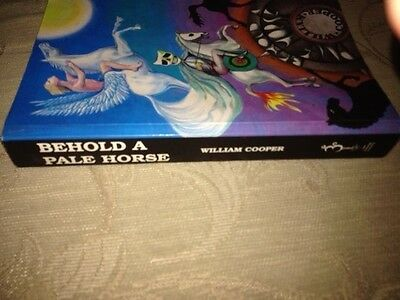 Book By William Cooper, Behold A Pale Horse, Isbn 0929385225