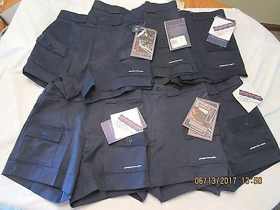 LOT OF 6 PAIR SPORTIF USA SHORTS Blue Sz 32  walking active New with TAGS