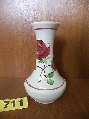 Small Radford Art Deco Floral Hand Painted Vase