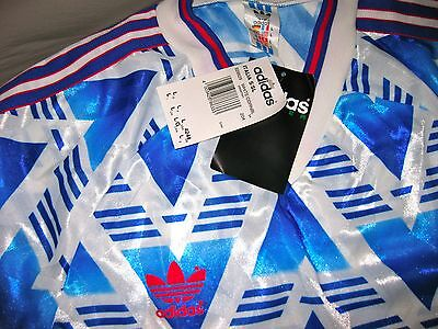 Vintage Adidas Trikot 80s 90s Shrit Large Jersey Manchester United Style Maillot