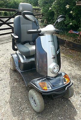 Kymco Midi XL ForU Mobility Scooter 8mph registered logbook 1 owner disability
